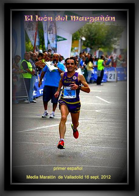 El leon del Margañán.Media maraton Valladolid
