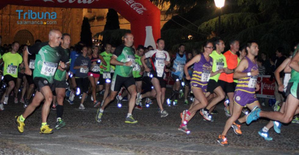 carrera nocturna Chamorro Lourdes